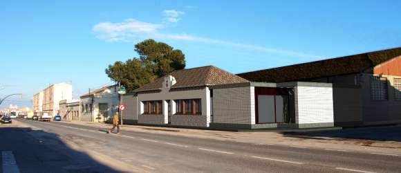 Rehabilitació antic Ajuntament de l'Aldea. Obra pública 1