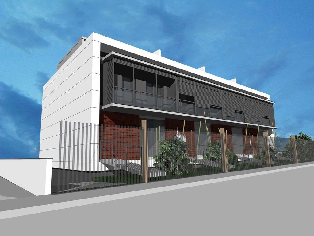 Plurifamiliar conjunt de 4 habitatges entre mitgeres a - Fem arquitectura ...