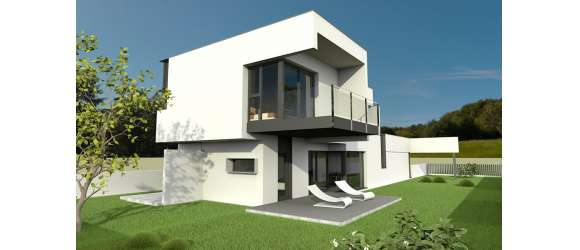 Habitatge unifamiliar aïllat a Quart (Girona). Unifamiliar 1